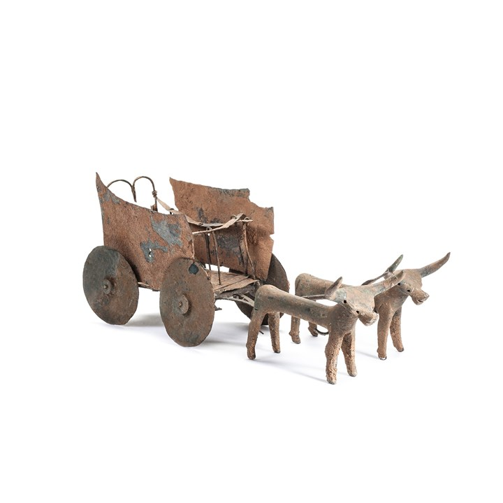 Bronze Ox Cart