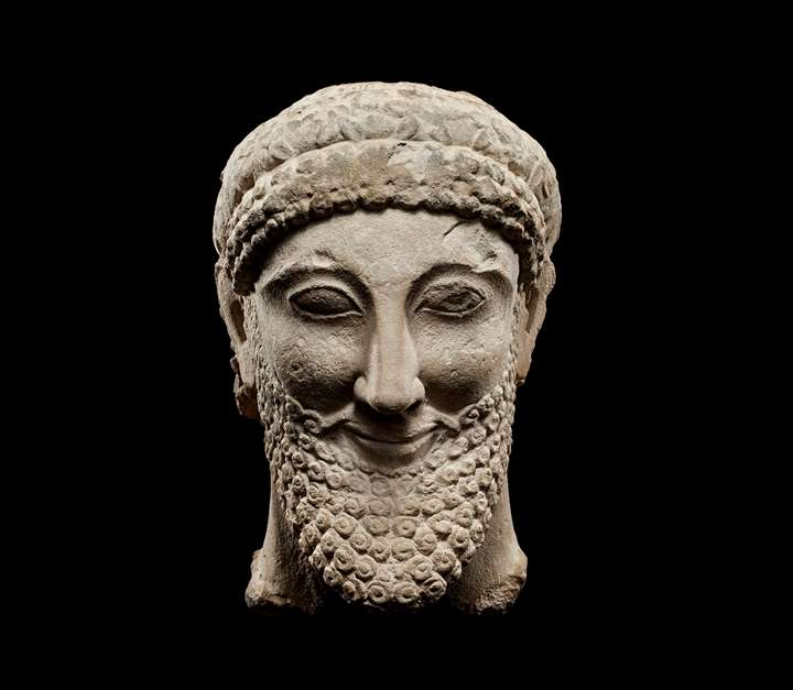 Cypriot Votive Head