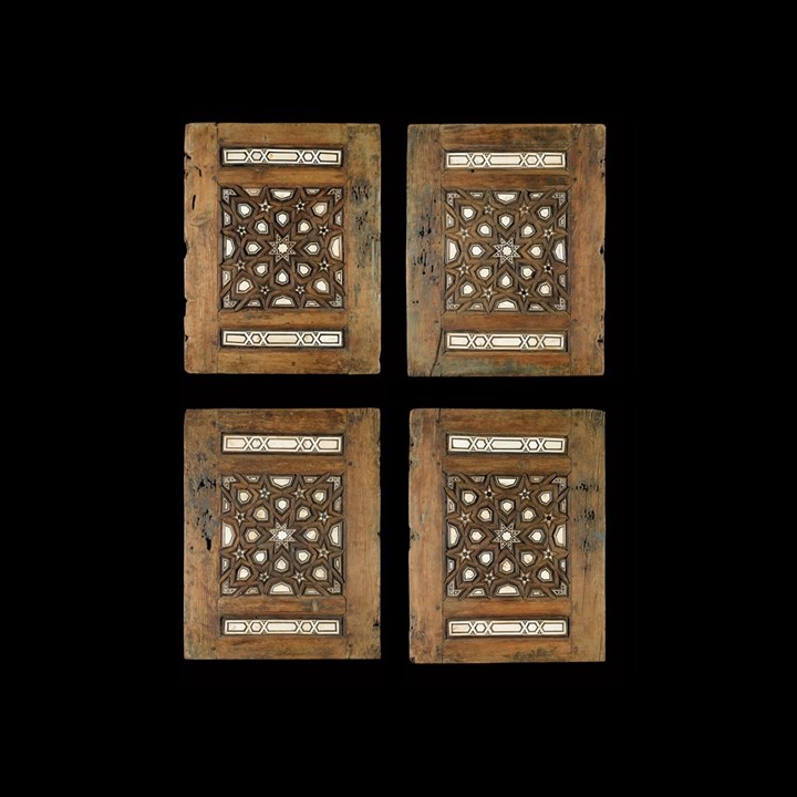FOUR MAMLUK PANELS
