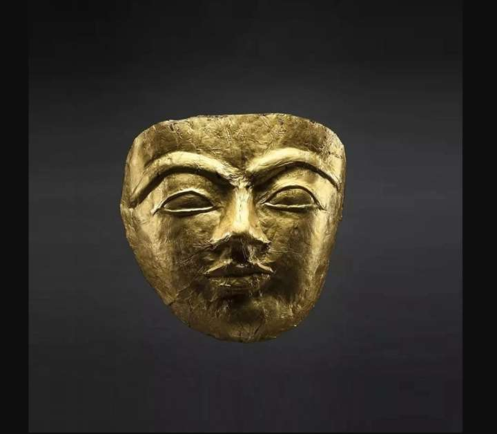Funerary Gold Mask