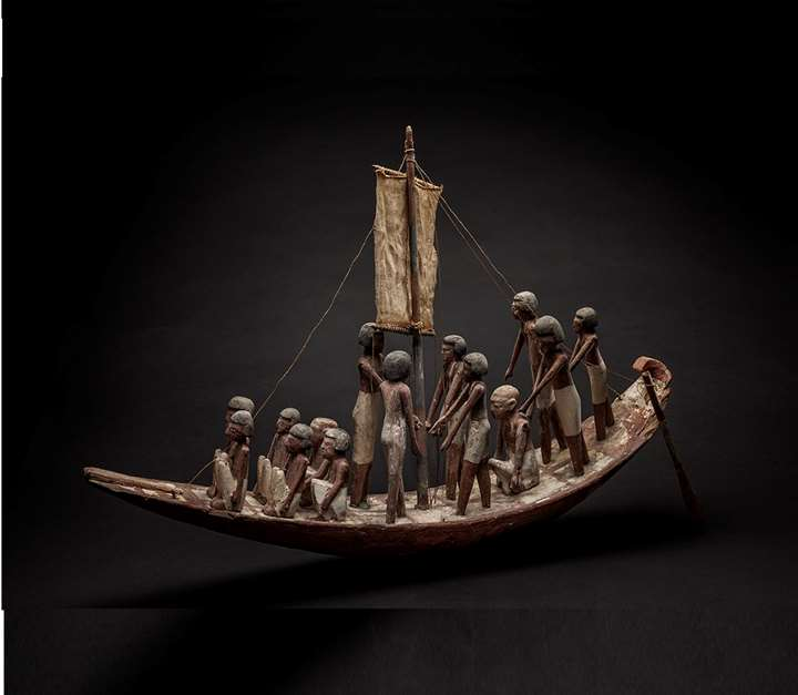 Funerary Model of a Boat