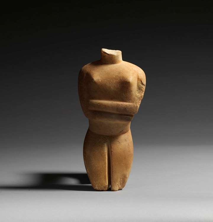 Large Cycladic Torso