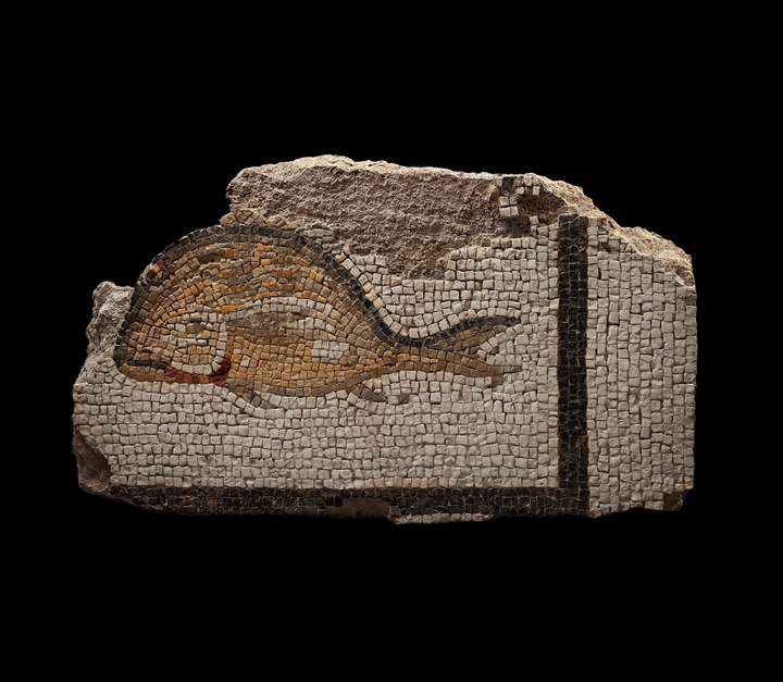 Mosaic Fragment of a Fish