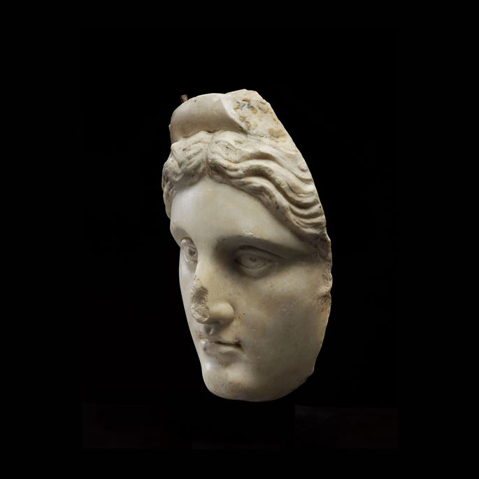 ROMAN HEAD OF A GODDESS | MasterArt