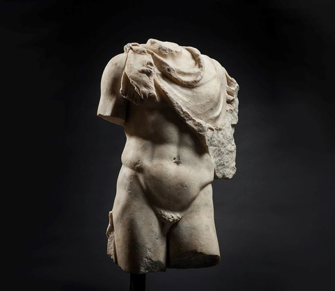 Torso Draped with Panther Skin | MasterArt
