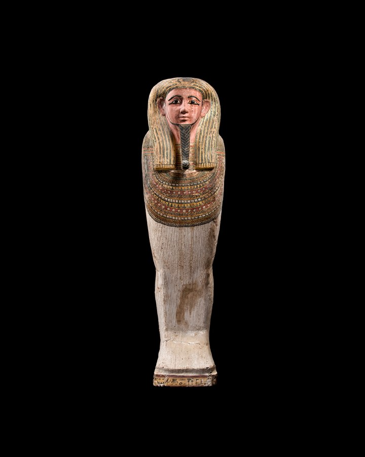 Anthropomorphic mummy sarcophagus