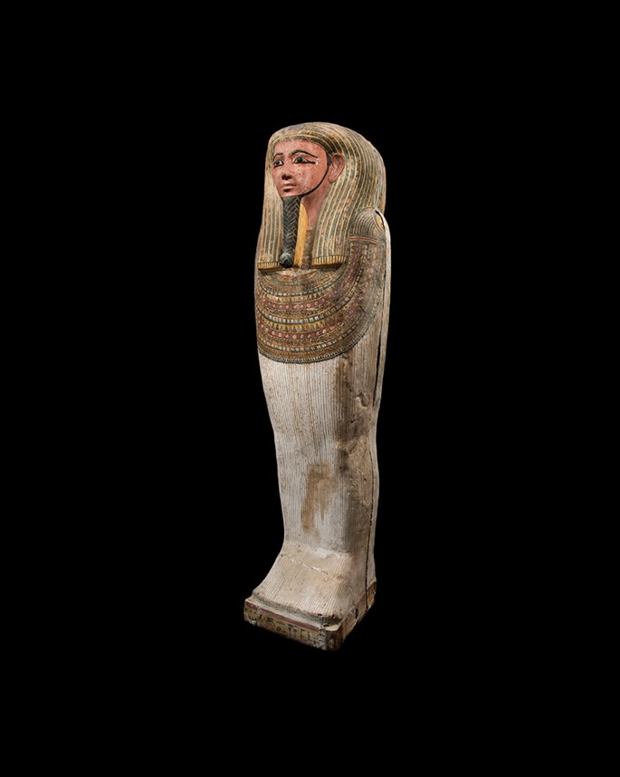 Anthropomorphic mummy sarcophagus | MasterArt