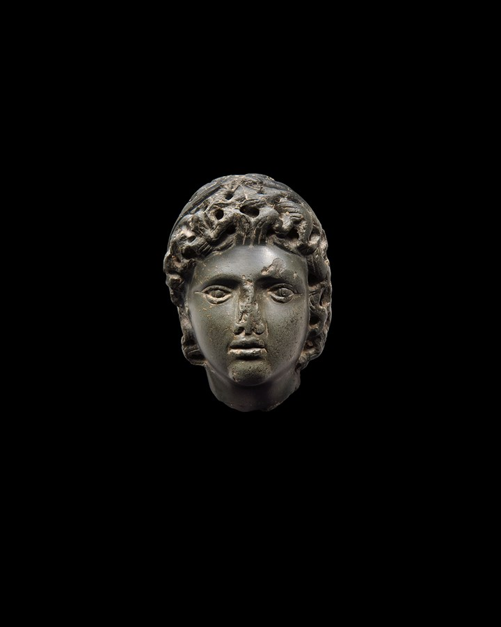 Head depicting Alexander the Great - Hellenistic period