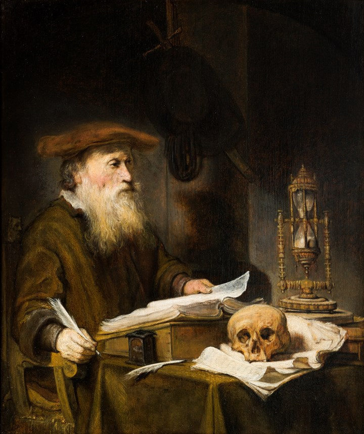 Scholar in his Studio.