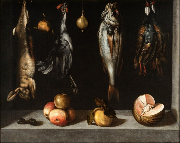 Still Life with Game, Fish and Fruits