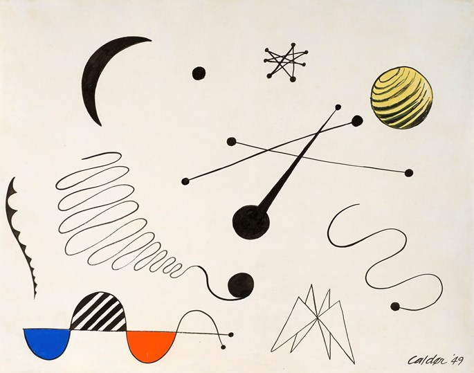 Alexandre CALDER - Composition    | MasterArt