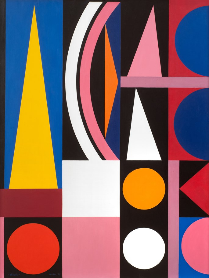 Auguste Herbin - Chant | MasterArt