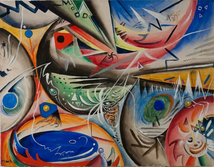 Rudolf Bauer - Composition | MasterArt