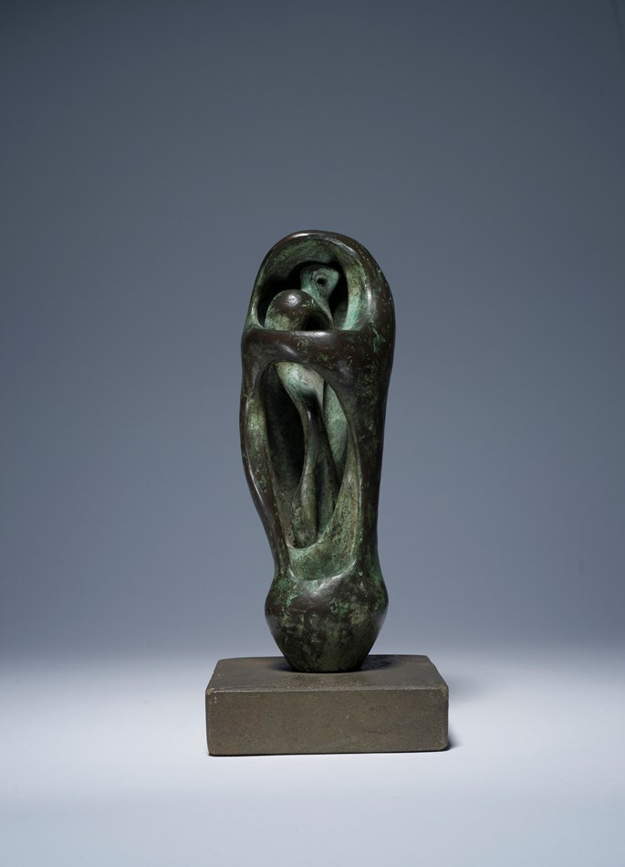 Henry Moore - Maquette for Upright Internal/External Form | MasterArt