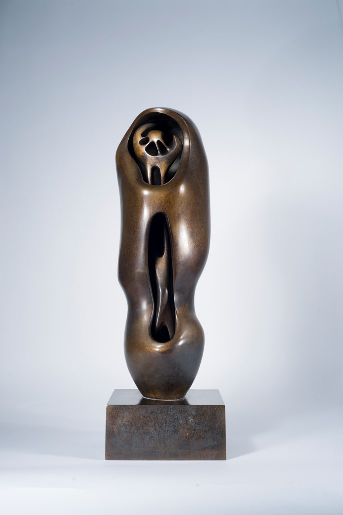 Henry Moore - Upright Internal and External Form: Flower | MasterArt
