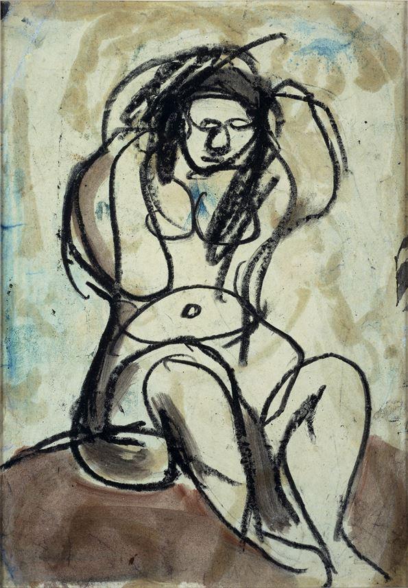 Georges ROUAULT - L'aguicheuse | MasterArt