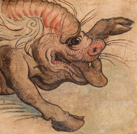 Venetian School - Fantastical animal, probably a Leucrota | MasterArt