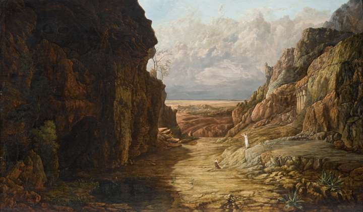 Hagar in the desert