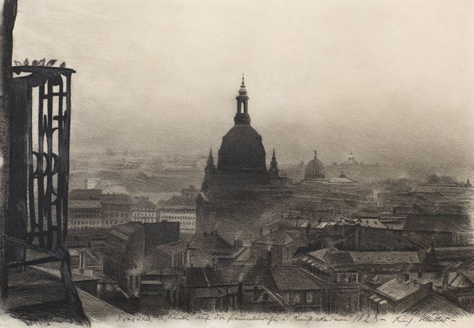The Frauenkirche, Dresden, 1928 | MasterArt