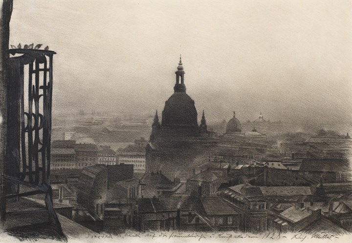 The Frauenkirche, Dresden, 1928