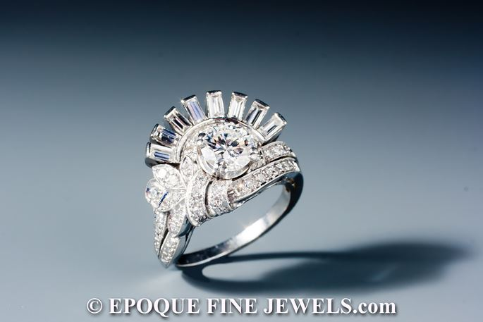 An unusual diamond ring,  | MasterArt