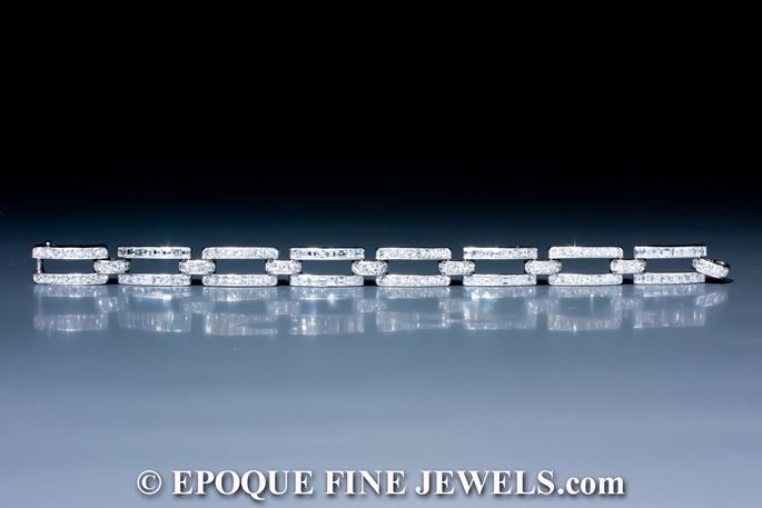 Cartier - An Art Deco diamond bracelet | MasterArt