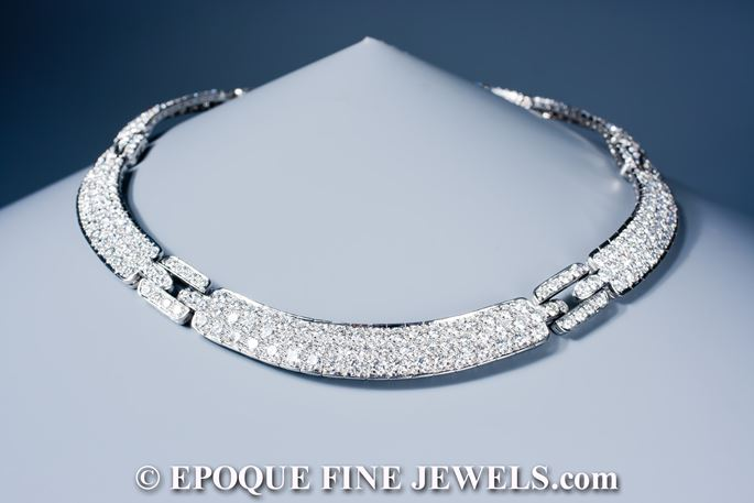 Tiffany & Co.  - A magnificent diamond necklace | MasterArt