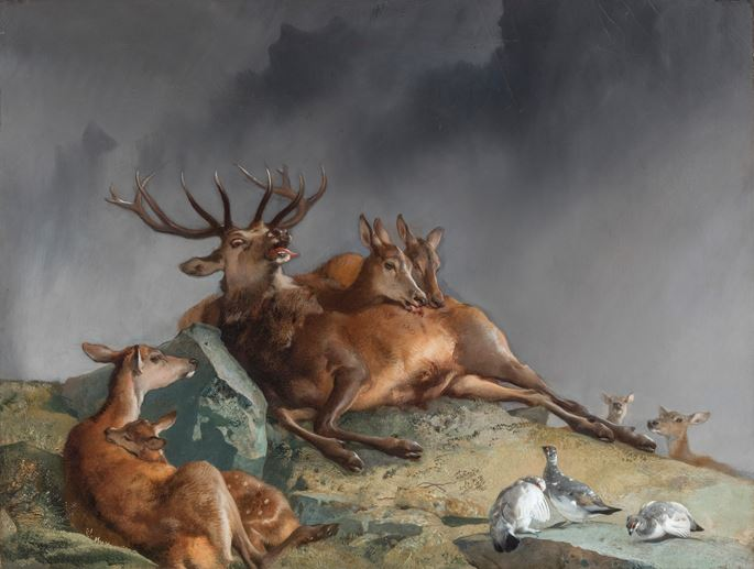 Sir Edwin Landseer - The Highland Nurses  | MasterArt