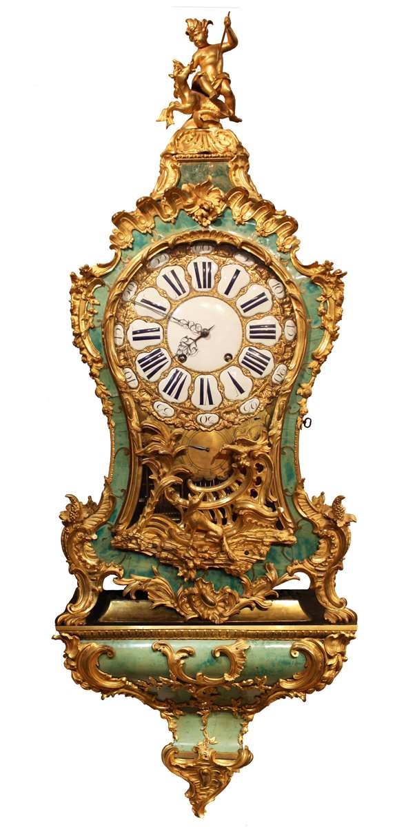 A Louis XV musical bracket Clock