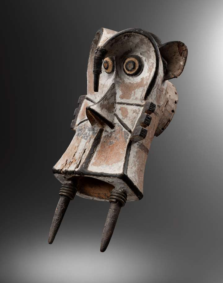 Igbo elephant mask