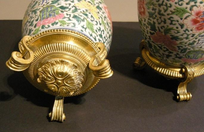 A pair of porcelain vases famille rose | MasterArt