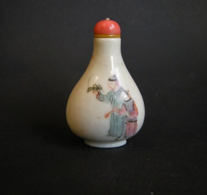 Rare porcelain snuff bottle | MasterArt