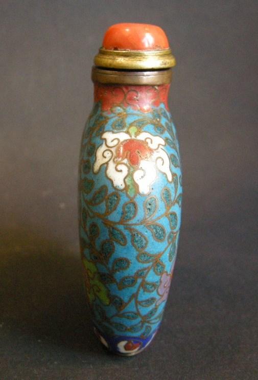Cloisonné Enamel snuff bottle | MasterArt