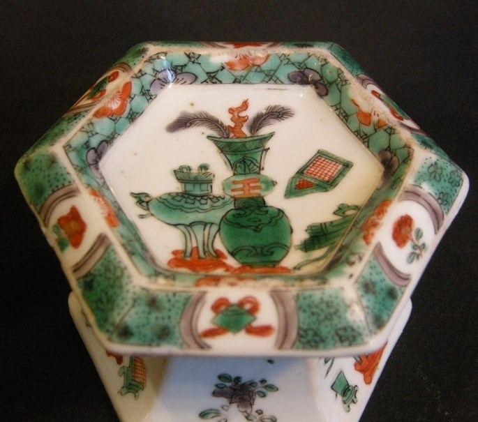 "Salt  ""famille verte"" porcelain - Kangxi period | MasterArt"
