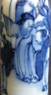 Small snuff bottle blue and white | MasterArt