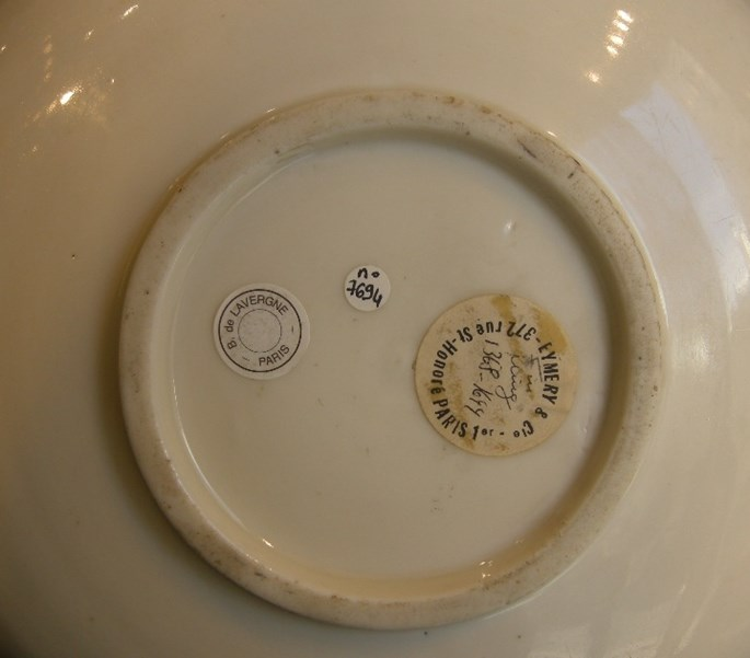 "Dish ""Blanc de Chine"" porcelain - Dehua kilns Fujian province - Late Ming   MasterArt"