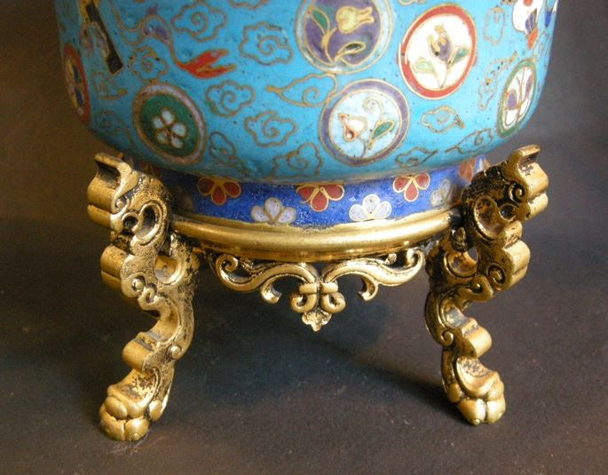 Bowl in a Cloisonné enamel - Jiaqing period | MasterArt
