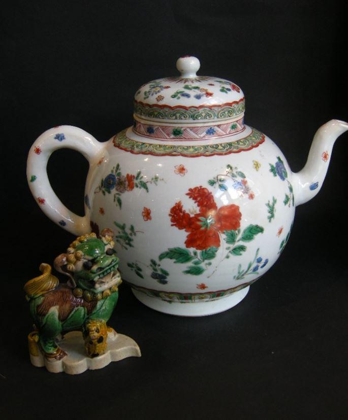 Important punchpot porcelain famille verte - Kangxi period | MasterArt