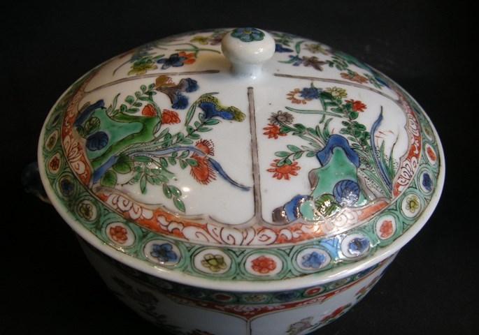 "Tureen ""famille verte"" porcelain - Kangxi period | MasterArt"