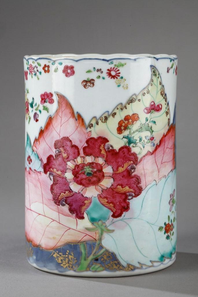 Tankard porcelain tobacco leaf decor | MasterArt