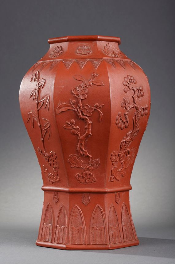 Rare vase Yixing ware | MasterArt