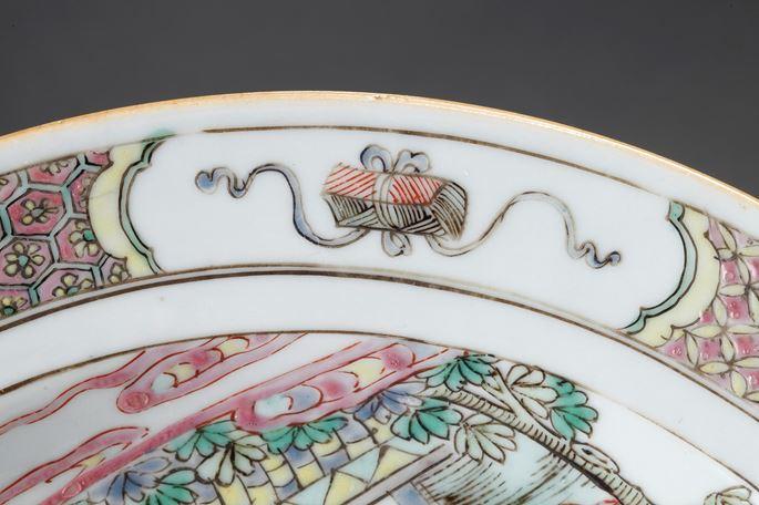 "Dish ""Famille rose"" porcelain   MasterArt"