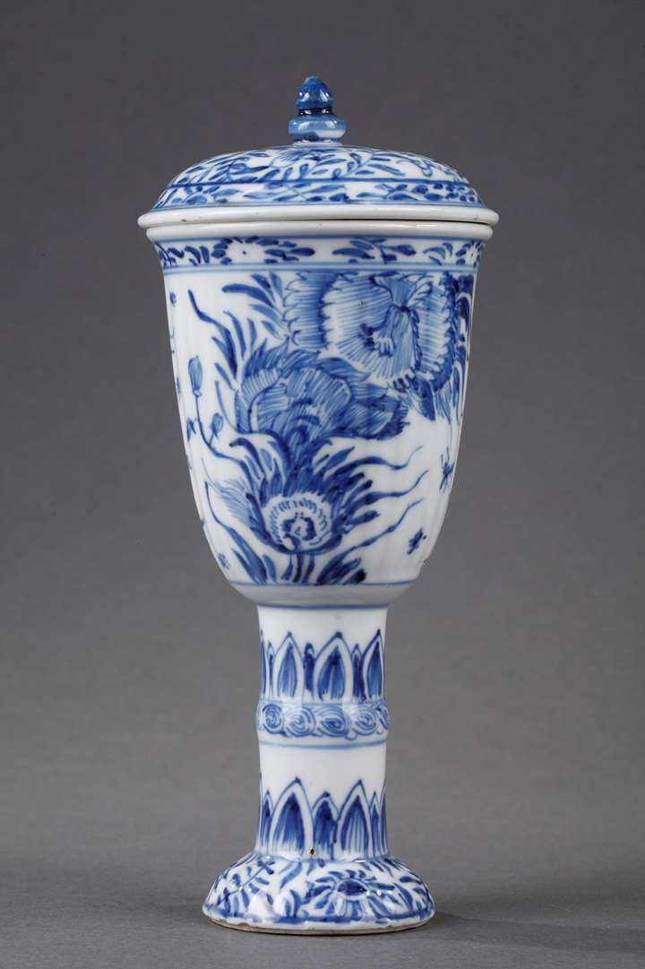 Gobelet and cover  Blue and White porcelain