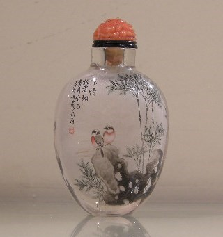 Inside painted snuff bottles presentation | MasterArt