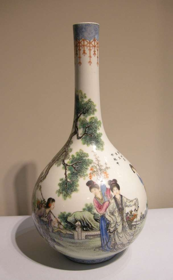 Large bottle vase