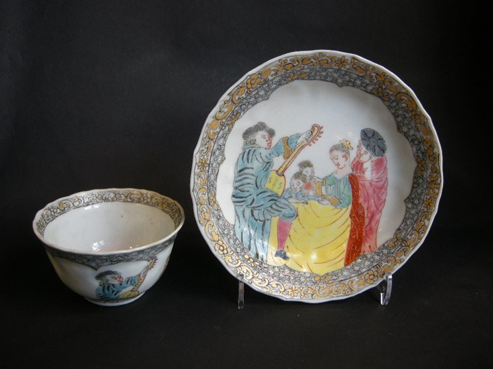 Very rare cup and saucer porcelain