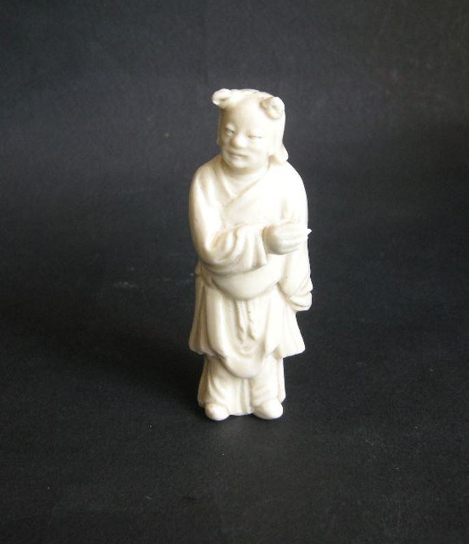 Small figure (monk) - Dehua kilns Fujian province - Kangxi period | MasterArt