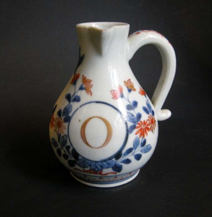 Small ewer porcelain for the oil
