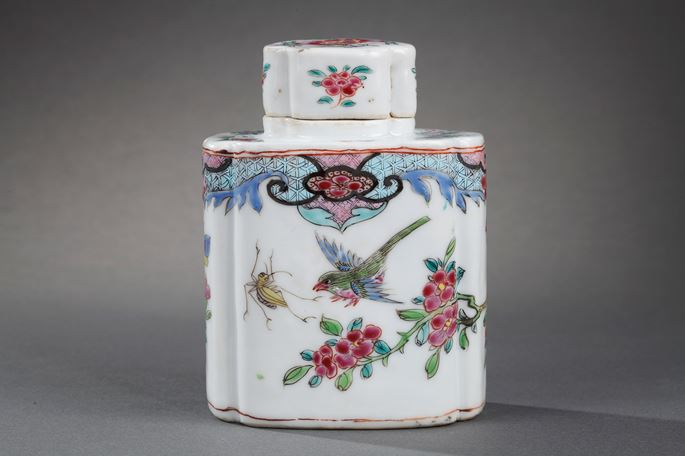 """Teapot and cover  porcelain """"famille rose"""" 