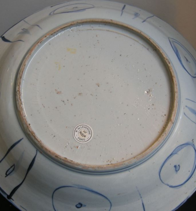 Dish blue and white Chinese porcelain Kraackporselein type | MasterArt